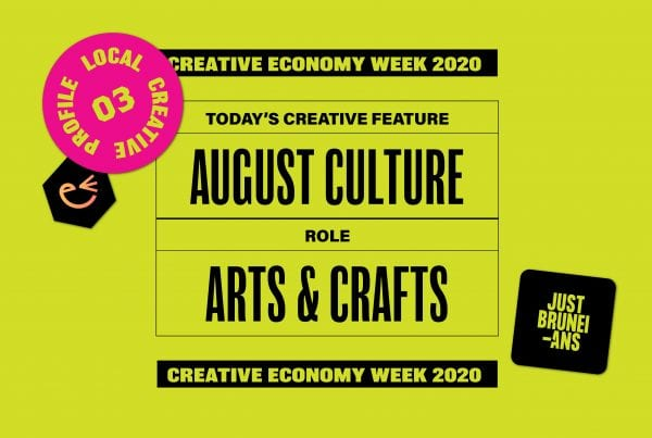 Today's Creative Feature: August Culture   Creative Economy Week 2020