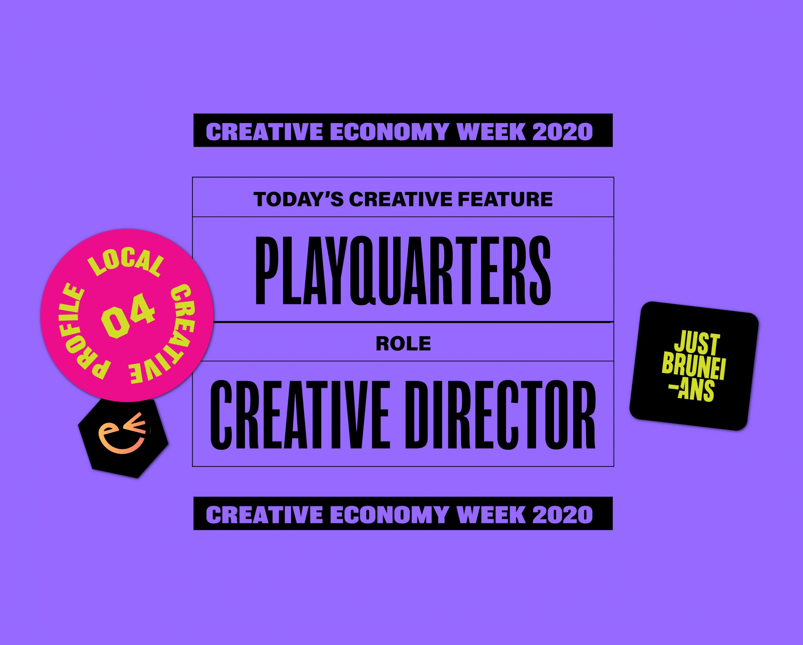 Today's Creative Feature: Playquarters | Creative Economy Week 2020