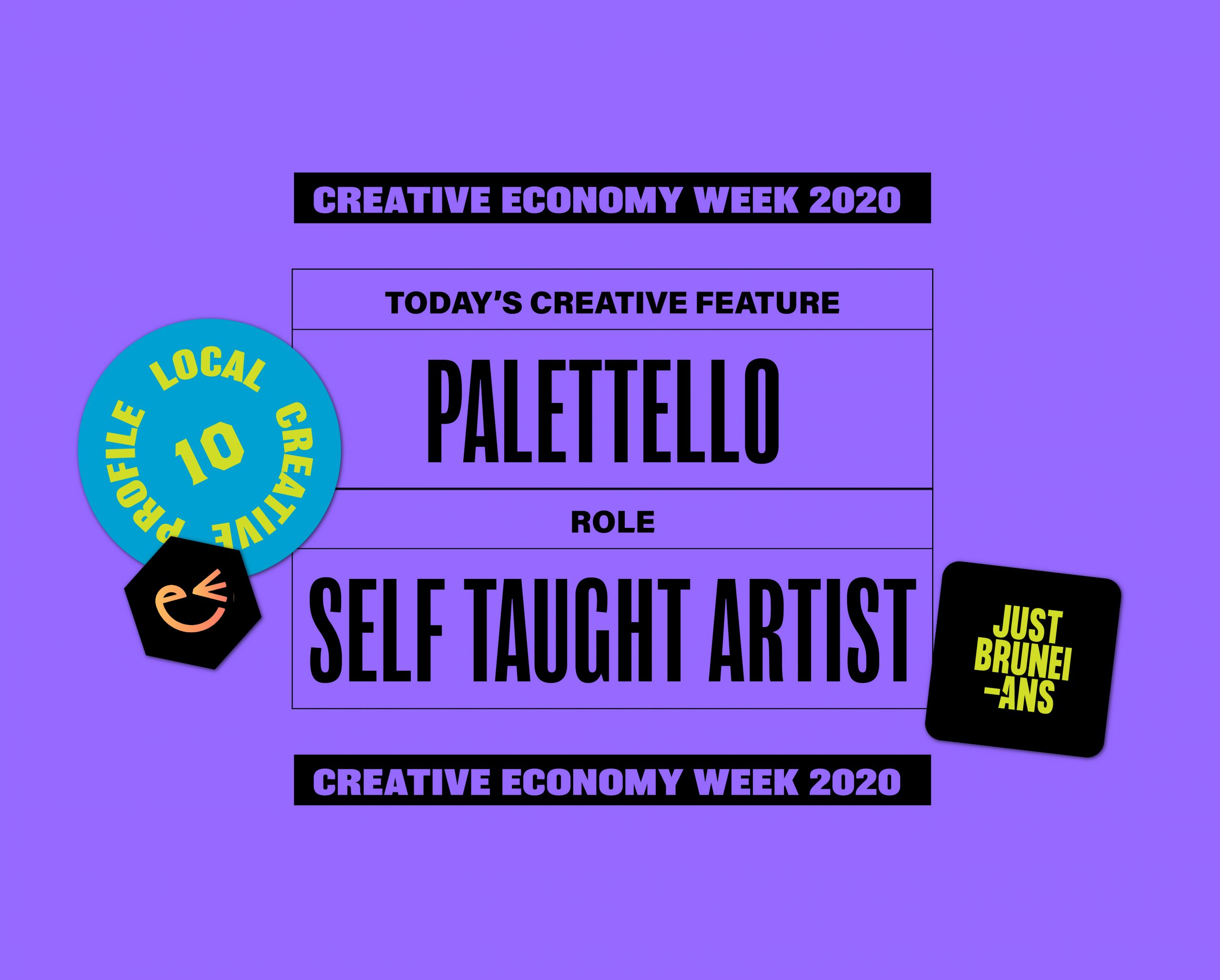 Today's Creative Feature: Palettello | Creative Economy Week 2020